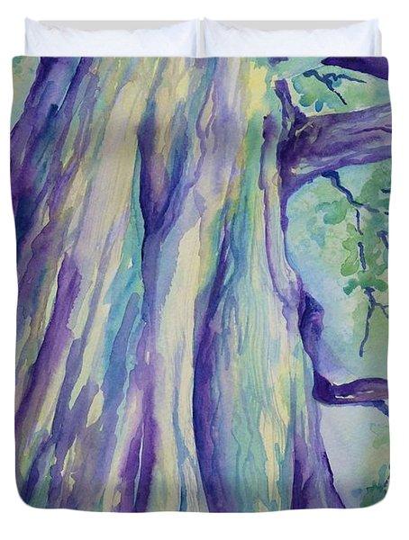 Perspective Tree Duvet Cover by Gretchen Bjornson