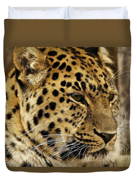 Duvet Cover featuring the photograph Pesive by Gary Bridger