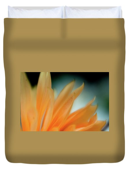 Duvet Cover featuring the photograph Petal Disaray by Greg Nyquist