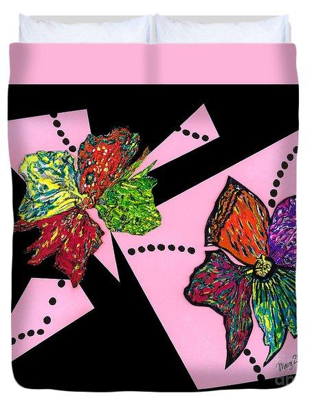 Petals In Motion Duvet Cover