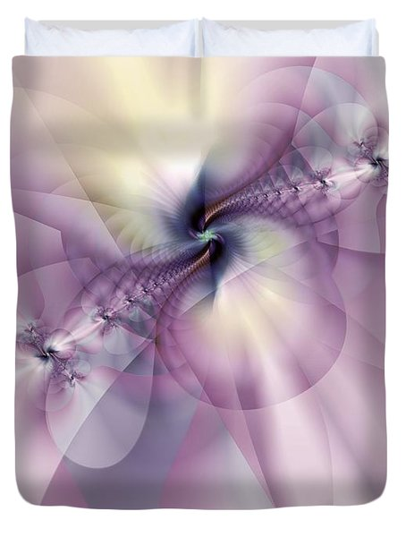 Petals Of Pulchritude Duvet Cover by Casey Kotas