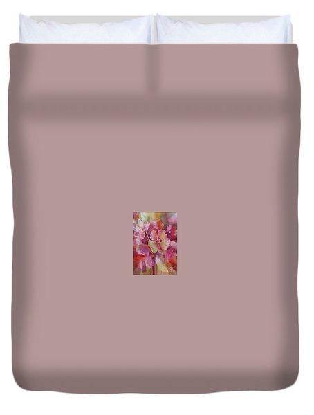 Petals, Petals, Petals Duvet Cover by Donna Acheson-Juillet