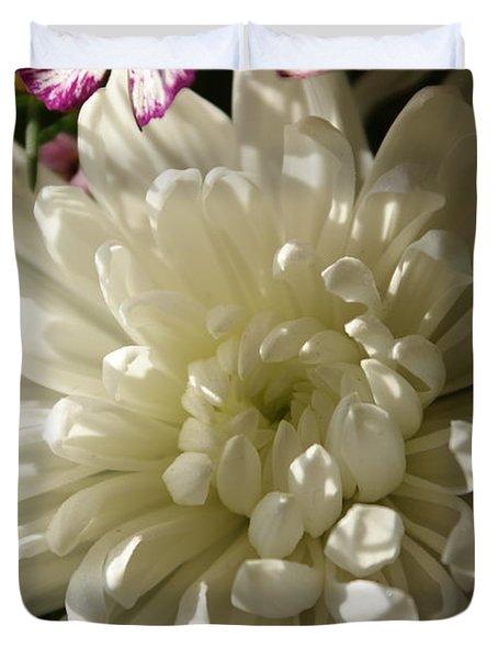 Petals Profusion Duvet Cover by Cricket Hackmann