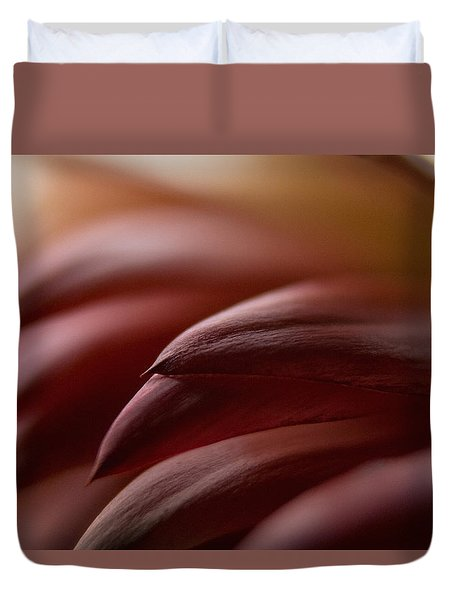 Duvet Cover featuring the photograph Petals by WB Johnston