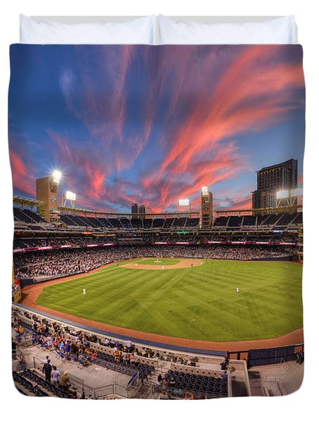 Petco Park - Farewell To 2015 Season Duvet Cover