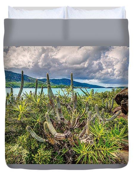 Peterborg Cactus Duvet Cover