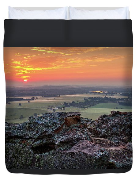 Petit Jean Sunrise Duvet Cover