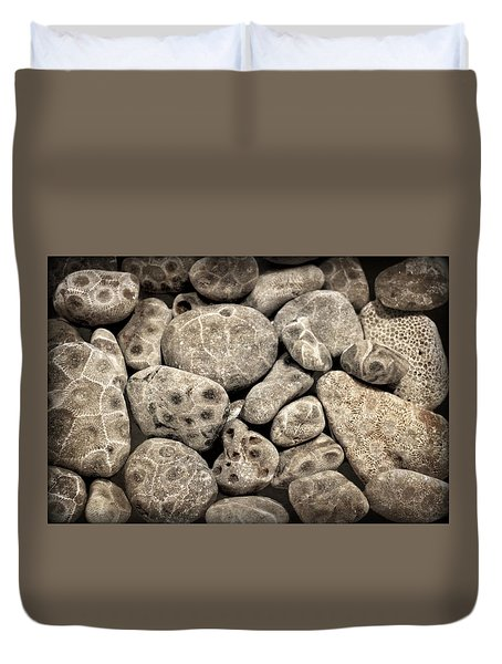 Petoskey Stones Vl Duvet Cover