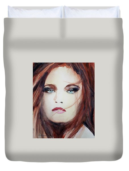 Petra Duvet Cover by Ed Heaton