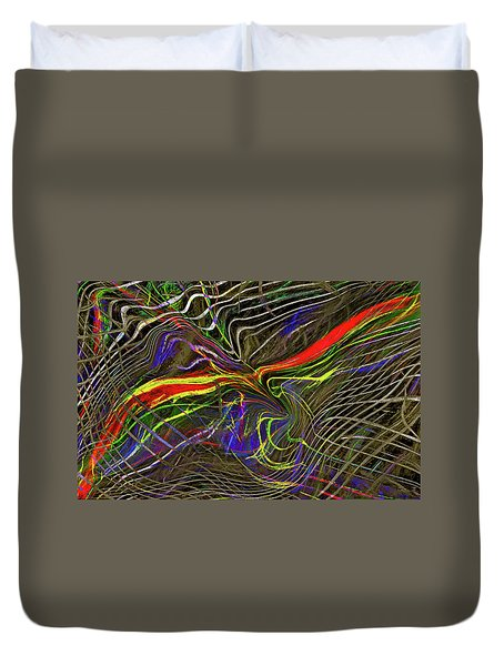Flight Of Petrel Duvet Cover