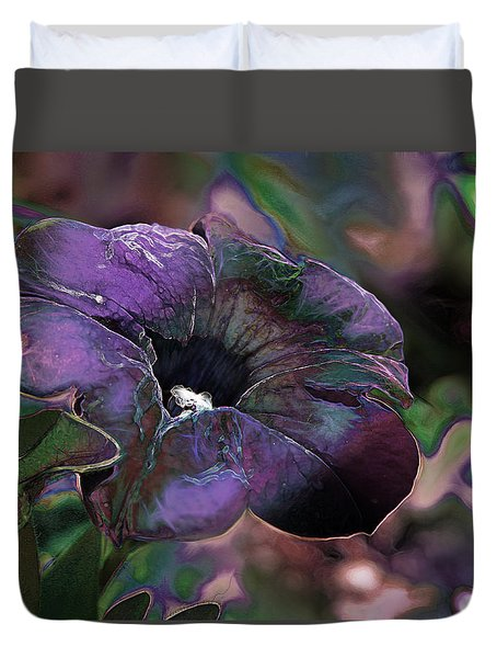 Petunia 1 Duvet Cover by Stuart Turnbull