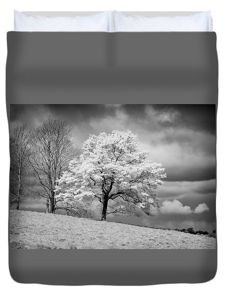 Petworth Tree Duvet Cover by Michael Hope