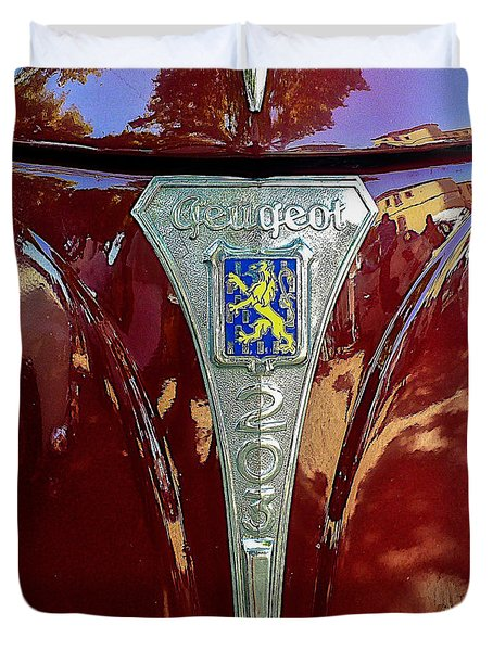 Peugeot 203 Duvet Cover