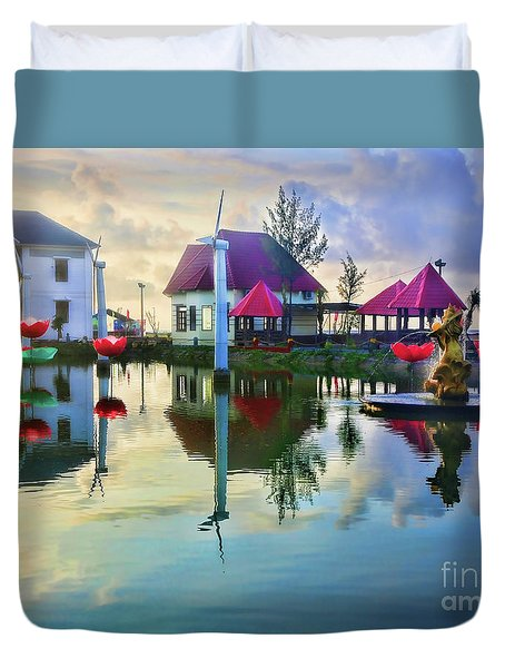 Phan Thiet Coast I Duvet Cover