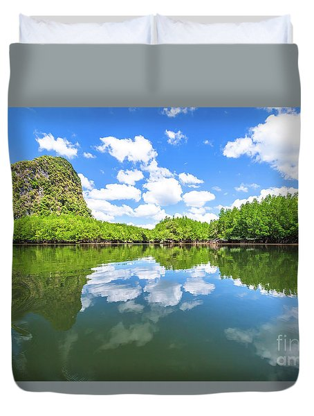 Phang Nga Bay Duvet Cover