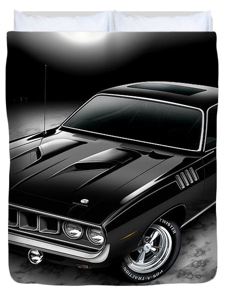Phantasm 71 Cuda Duvet Cover