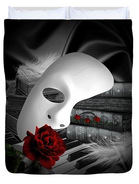 Phantom Of The Opera Duvet Cover