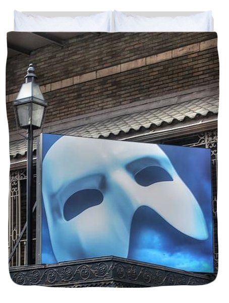Phantom Of The Opera - Broadway Duvet Cover by Timothy Lowry