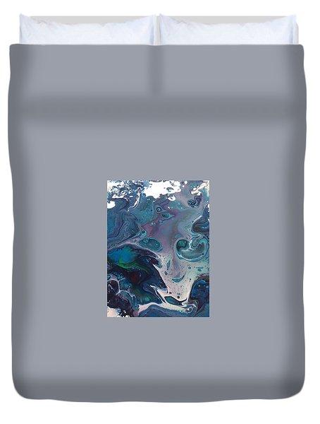 Phantom Of The Sea Duvet Cover