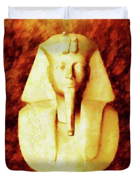 Pharaoh By Sarah Kirk Duvet Cover