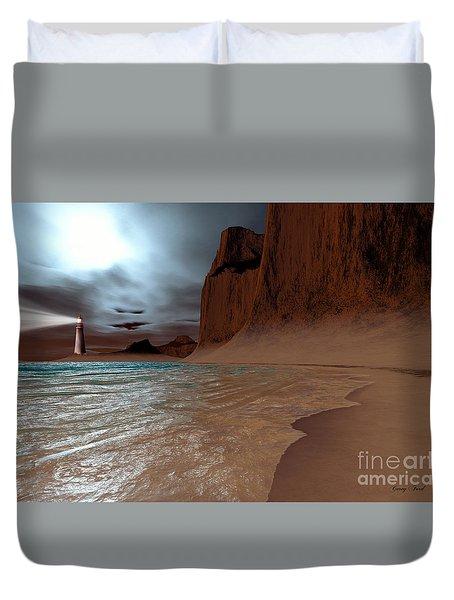 Pharos Duvet Cover by Corey Ford