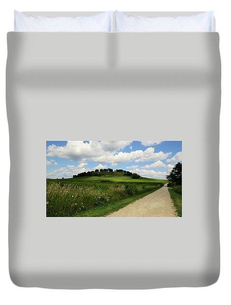 Pheasant Branch Hill Duvet Cover