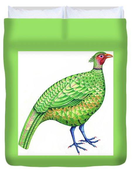 Pheasant Duvet Cover by Jane Tattersfield