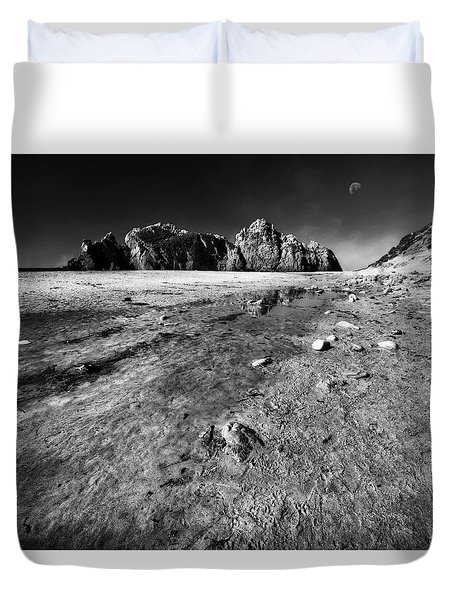 Duvet Cover featuring the photograph Pheiffer Beach -keyhole Rock #17 Big Sur, Ca by Jennifer Rondinelli Reilly - Fine Art Photography