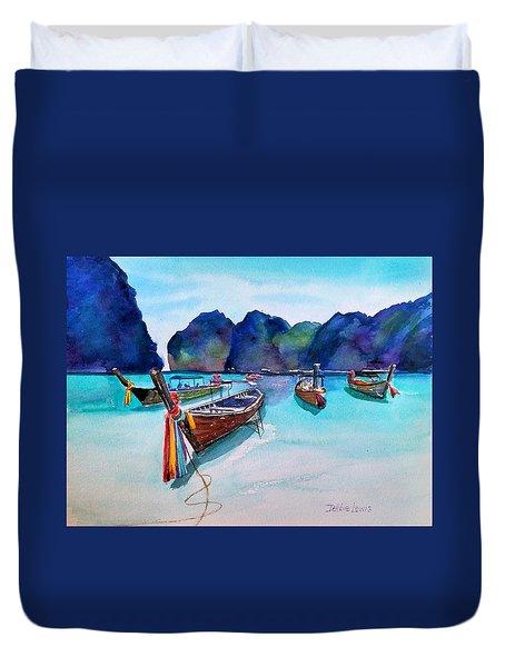 Phi Phi Island Duvet Cover