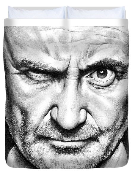 Phil Collins Duvet Cover