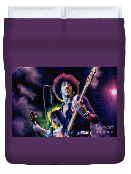 Phil Lynott - Thin Lizzy Duvet Cover
