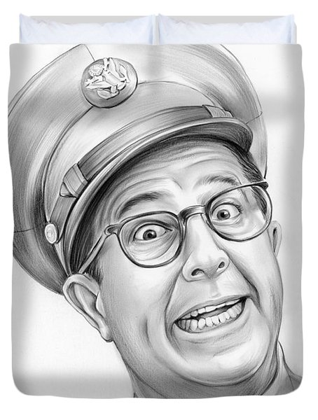 Phil Silvers Duvet Cover