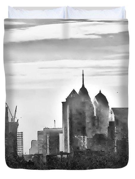 Philadelphia Duvet Cover by Bill Cannon
