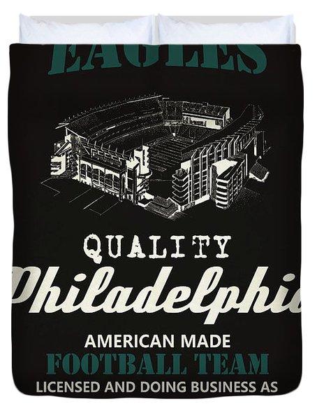 Philadelphia Eagles Whiskey Duvet Cover