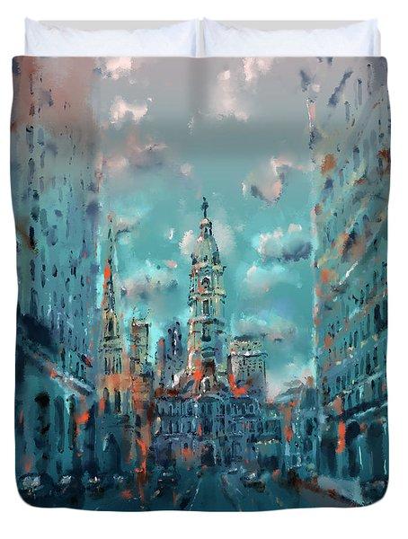 Philadelphia Street Duvet Cover