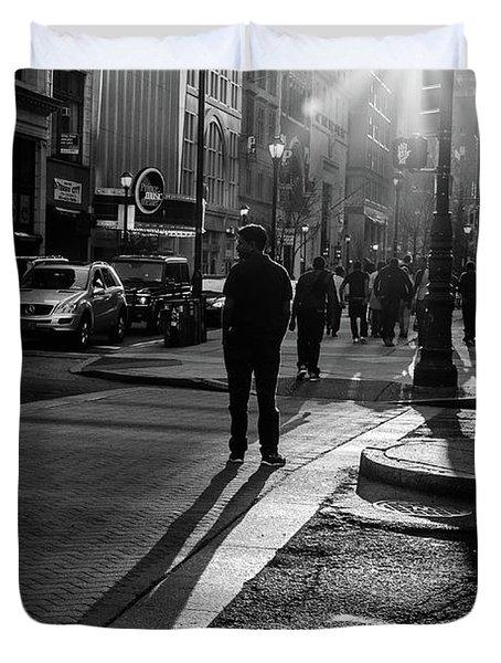 Philadelphia Street Photography - 0943 Duvet Cover