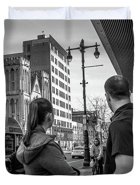 Philadelphia Street Photography - Dsc00248 Duvet Cover