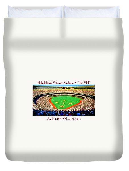 Philadelphia Veterans Stadium The Vet Duvet Cover