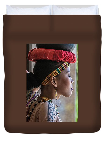 Philippine Dancer Duvet Cover