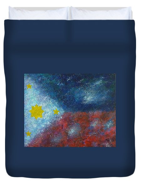 Philippine Flag Duvet Cover