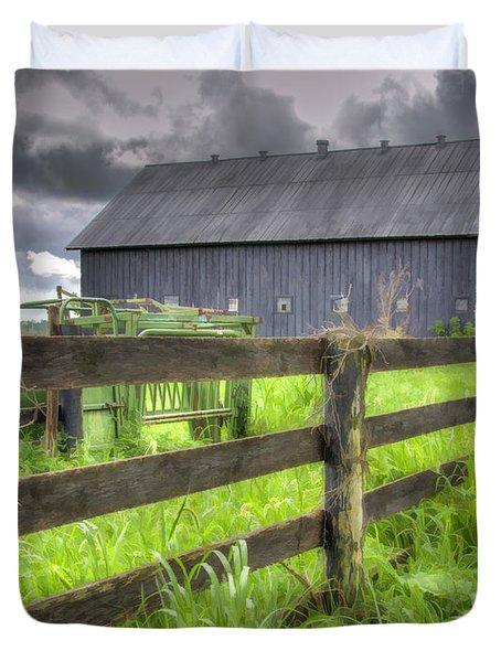 Phillip's Barn #4 Duvet Cover