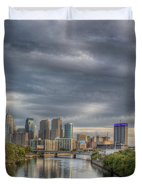 Philly River 2 Duvet Cover