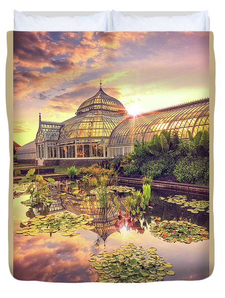 Lilys At Phipps  Duvet Cover