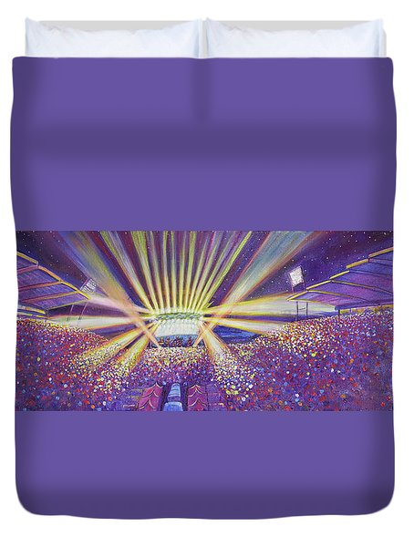 Phish At Dicks 2016 Duvet Cover