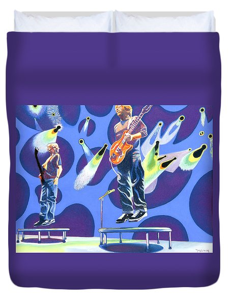 Phish Tramps Duvet Cover