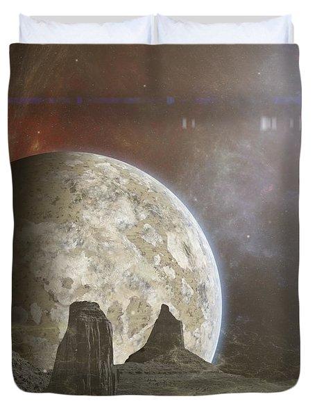 Phobos Duvet Cover