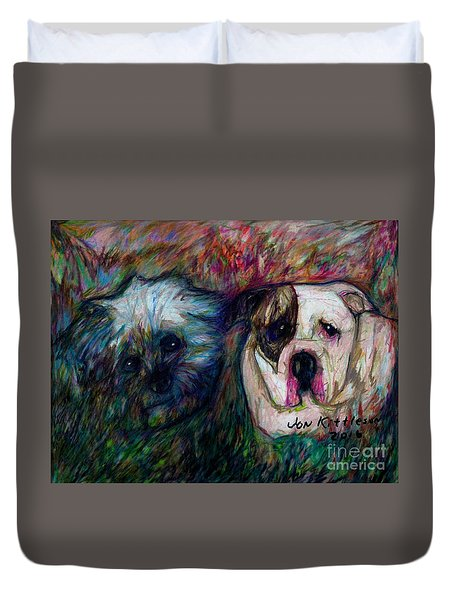Phoebe And Ace Duvet Cover