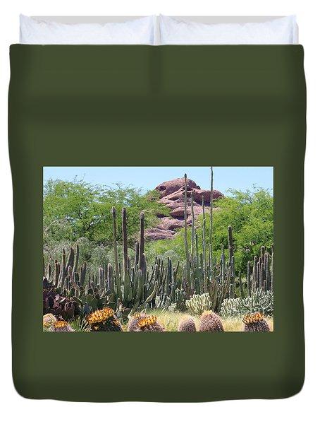 Phoenix Botanical Garden Duvet Cover
