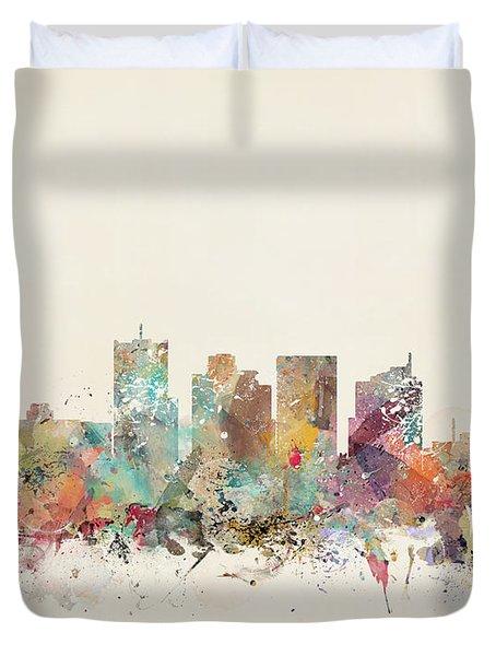 Phoenix City Duvet Cover