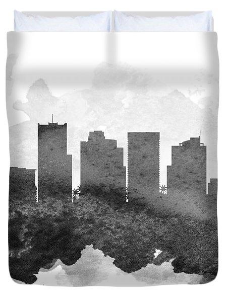 Phoenix Cityscape 11 Duvet Cover